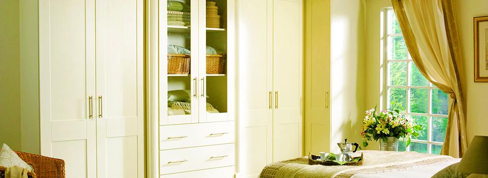 bright ivory wardrobe
