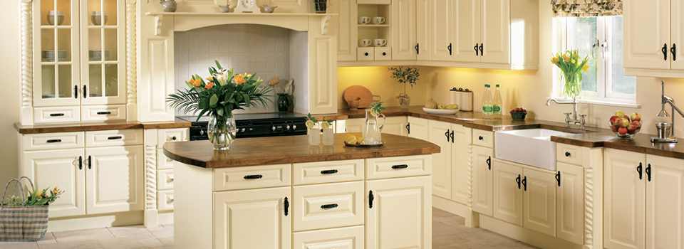 ivory fitted kitchen clare